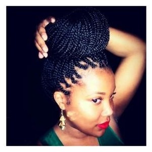 Magnificent Lady As Braids Hairweaving Studio Hairstyles For Men Maxibearus